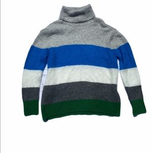 NWT Vince Camuto Striped Turtleneck Sweater